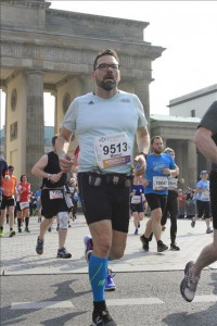 Kilometer 3 am Brandenburger Tor